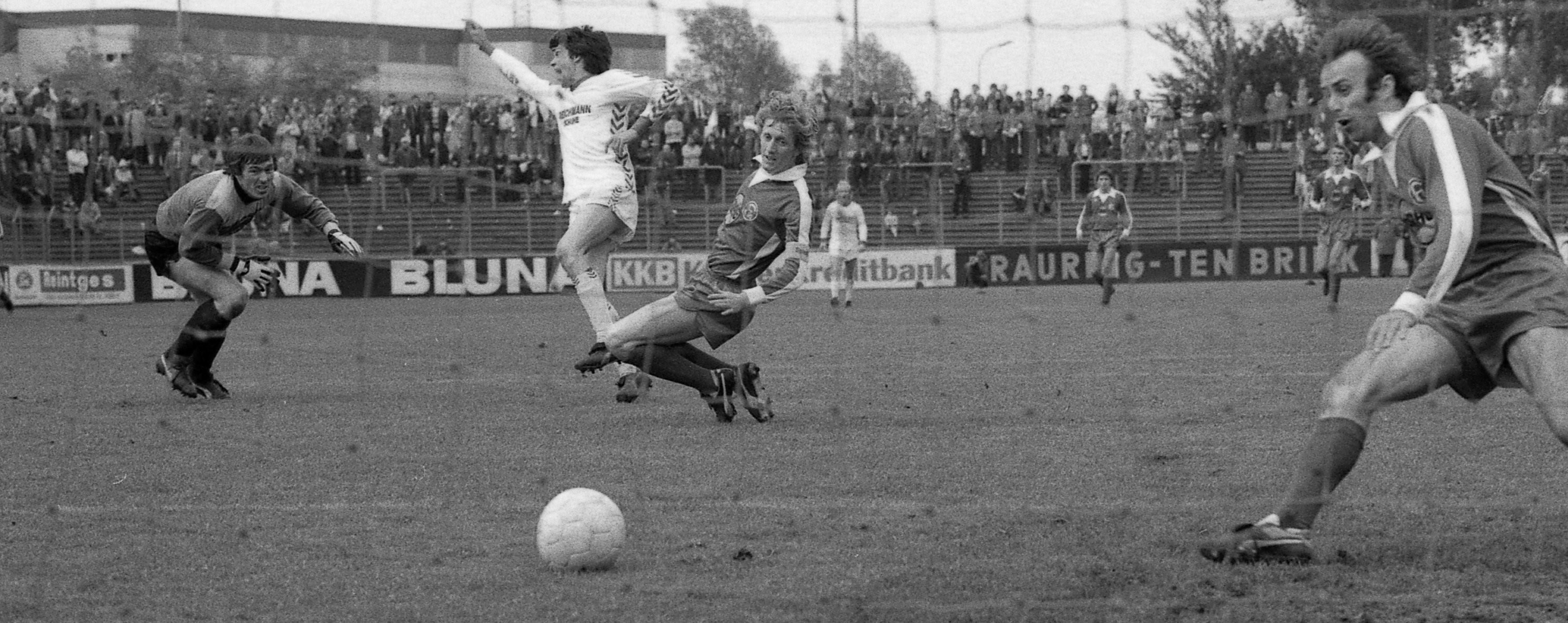 Werner Lorant erzielte gegen Fortuna Düsseldorf neben einigen Pokaltreffern auch das bisher letzte Bundesligator für RWE. (Foto: Archiv)
