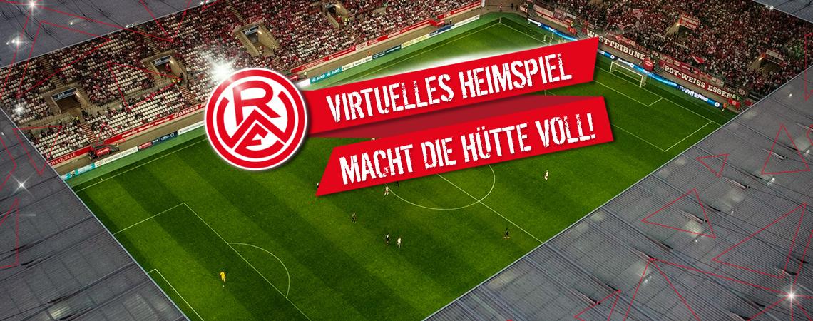 Ab sofort können sich RWE-Fans Tickets für die virutelle Hafenstraße sichern.