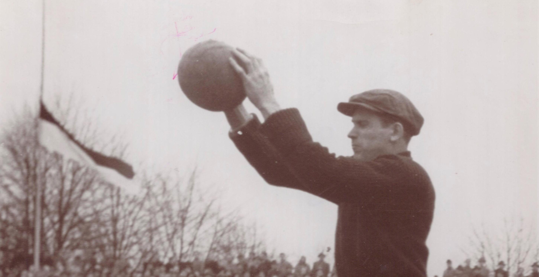Ein sicherer Rückhalt war Heini Kwiatkowski bei allen drei Traditionsvereinen. Nur die Nationalmannschaftskarriere verlief für ihn persönlich enttäuschend. (Foto: Archiv)