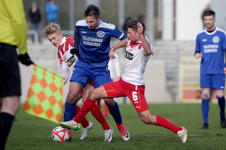 Die Rot-Weissen arbeiteten sich in Düsseldorf in die nächste Pokalrunde. (Foto: Endberg)