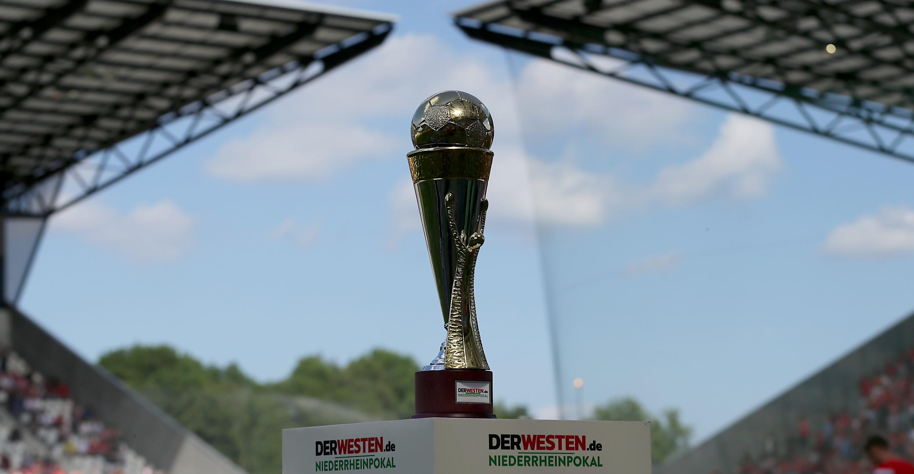 Das Viertelfinale des Niederrheinpokals ist ausgelost.