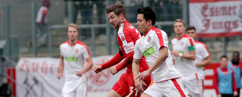 Am Sonntag gastiert die zweite Mannschaft von Fortuna Düsseldorf an der Hafenstraße. (Foto: Endberg)