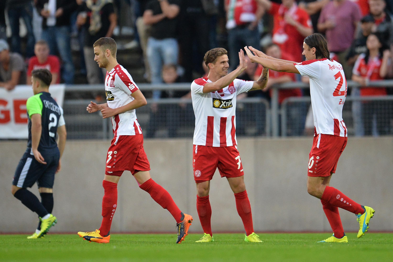 Mit 1:0 gewannen die Rot-Weissen den heutigen Test gegen den 1. FC Kann-Marienborn. (Foto: Tillmann)