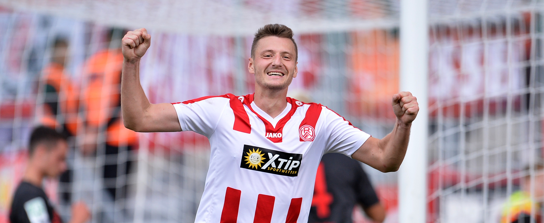 Kamil Bednarski erzielte das einzige Tor des Tages. (Foto: Tillmann)