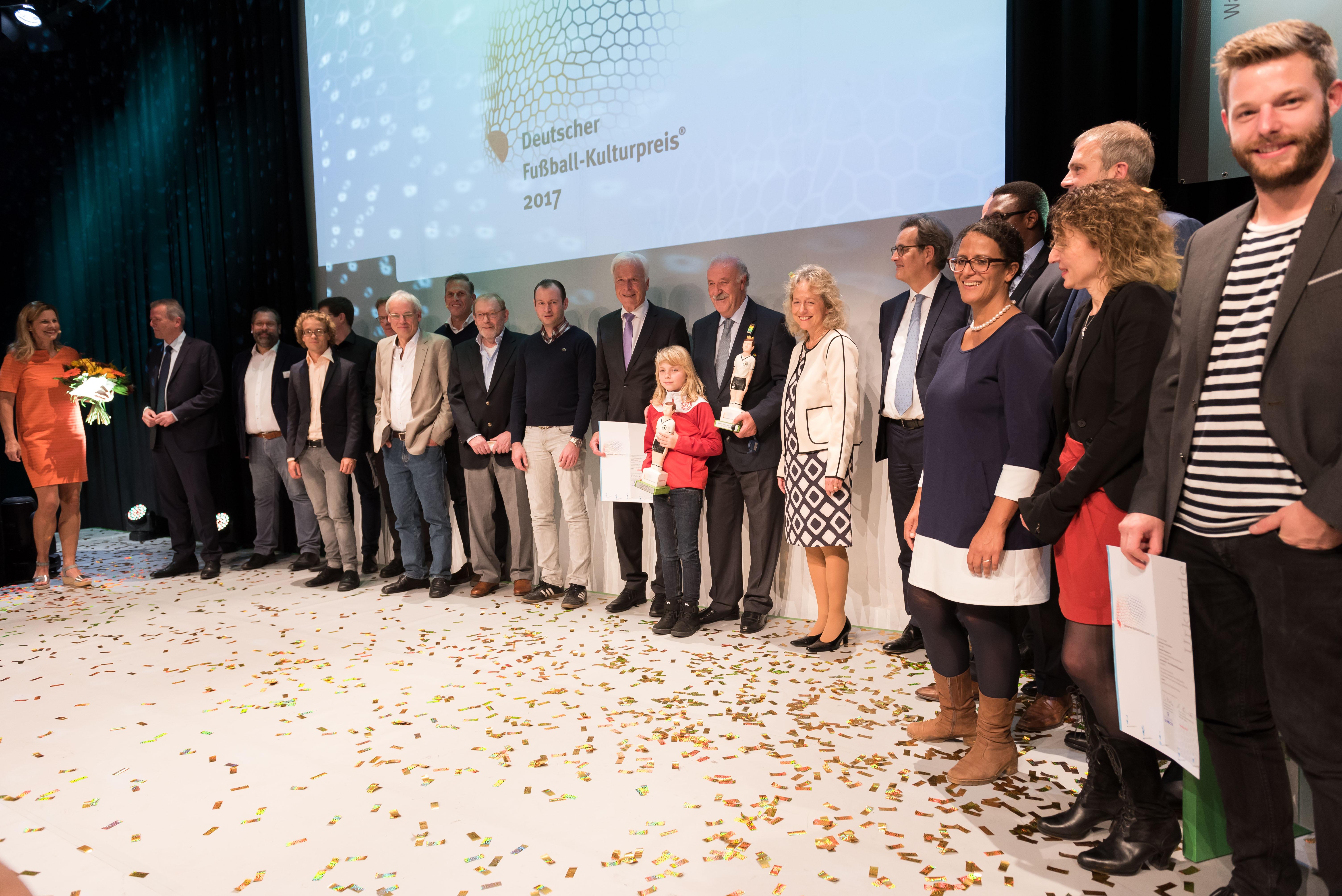 Große Gala, großes Kompliment: In Nürnberg stieg der Deutsche Fußball-Kulturpreis. (Fotos: Rygl)
