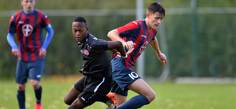 Die U19 von RWE will gegen den 1.FC Kleve ihre Siegesserie ausbauen. (Foto: Tillmann)