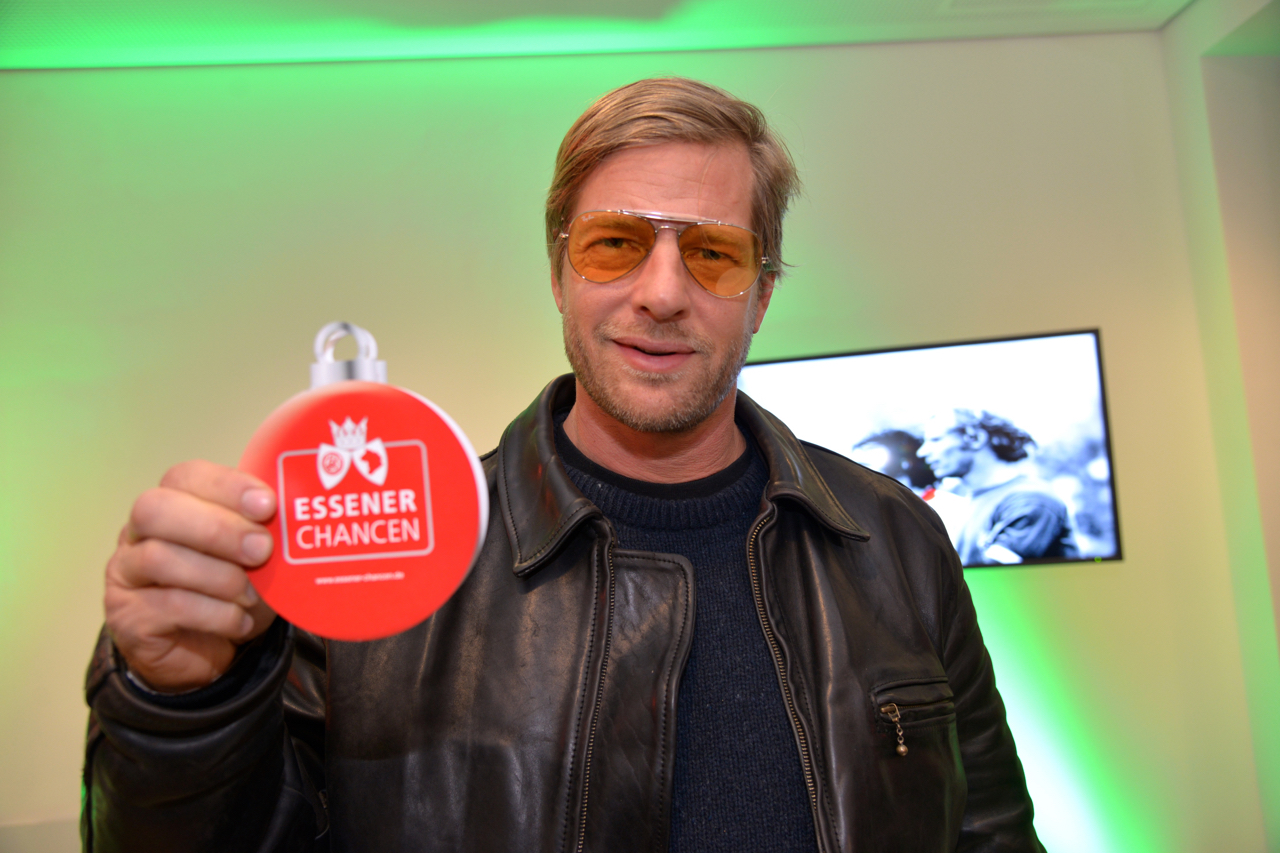 Botschafter für die Herzenswünsche: Essener-Chancen-Gründungsmitglied Henning Baum. (Foto: Capitain/EC)