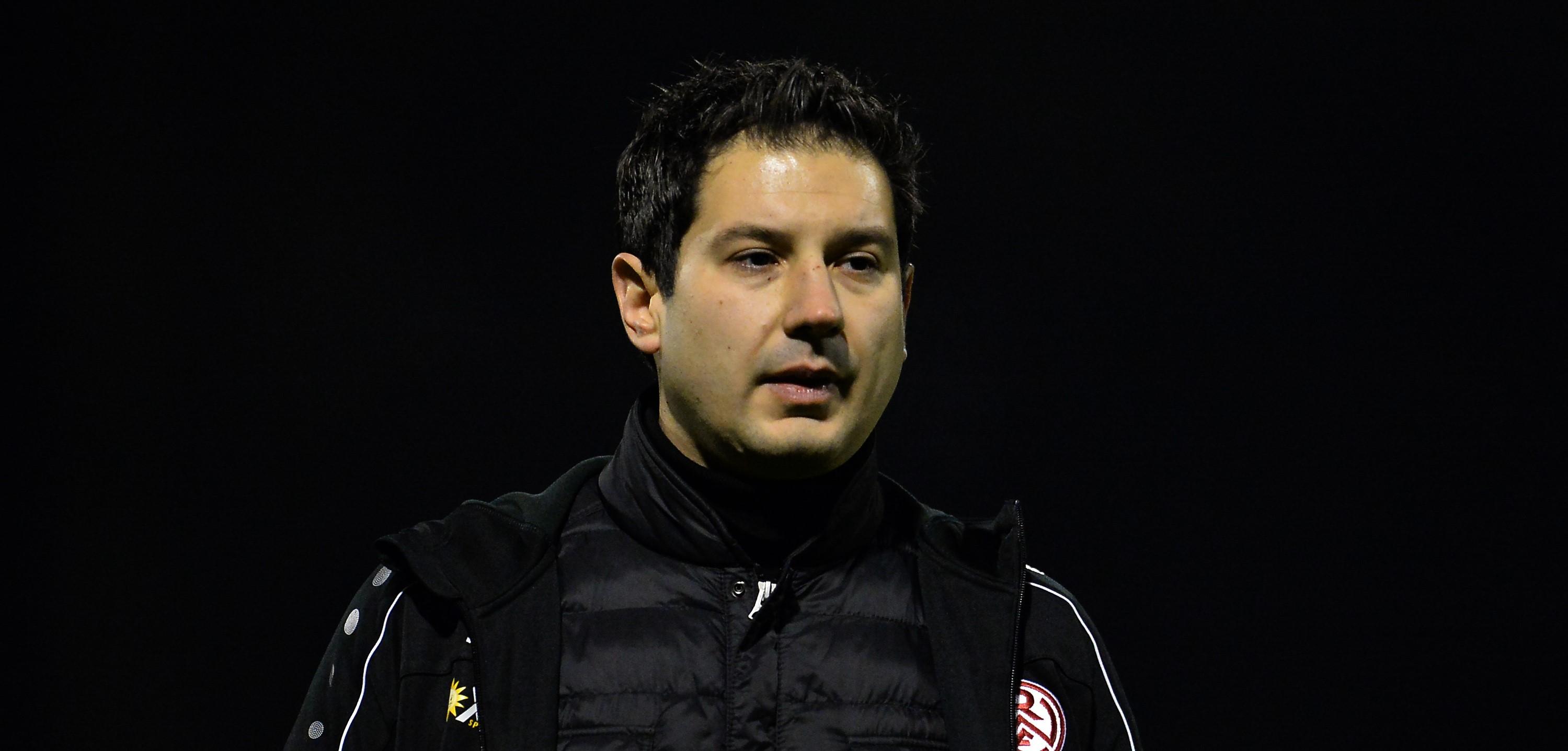 Argirios Giannikis verlässt Rot-Weiss Essen zum Saisonende. (Foto: Tillmann)