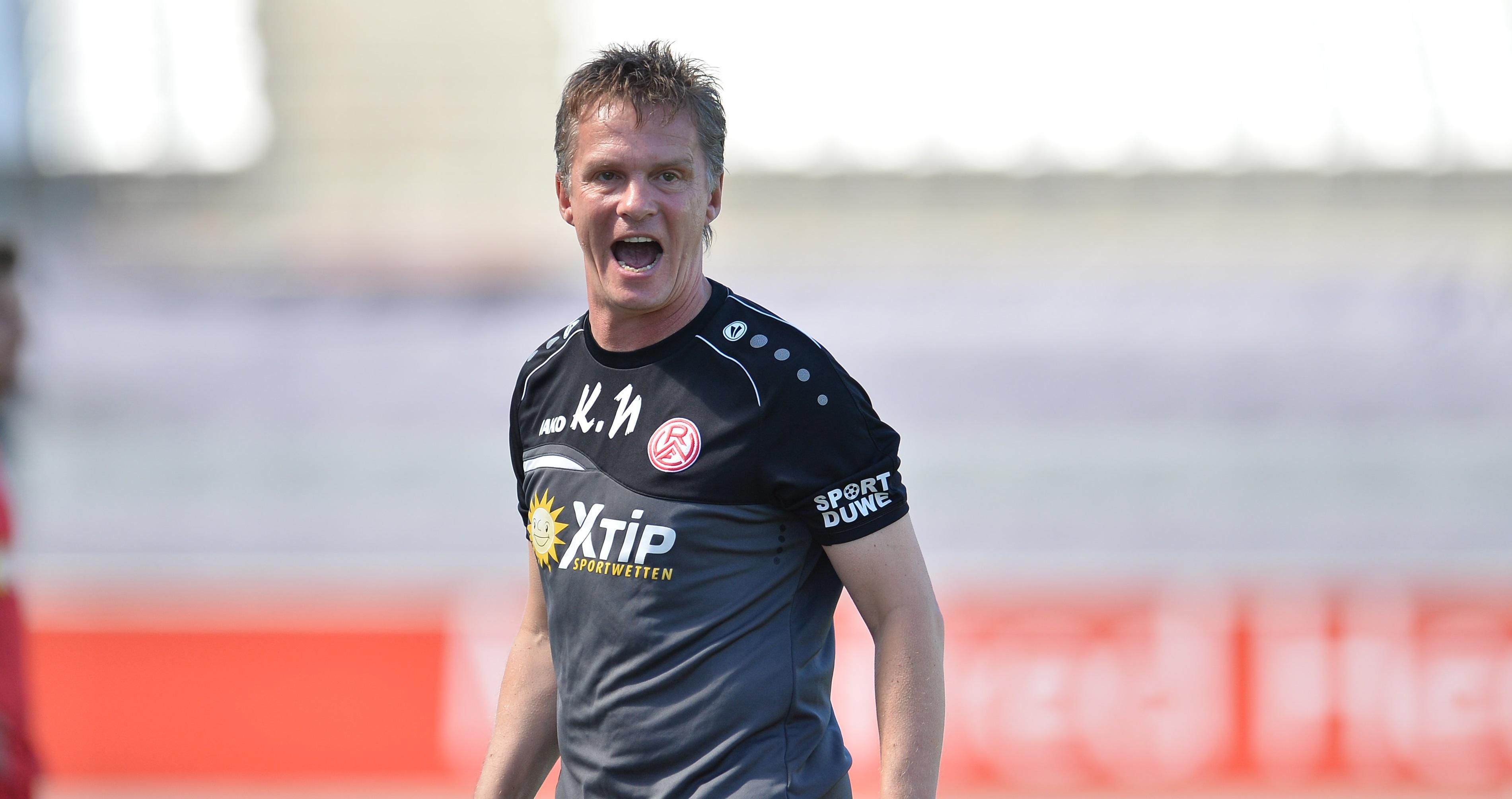 Karsten Neitzel lässt seine Mannschaft ein paar Tage früher zum Trainingsauftakt antreten. (Foto: Tillmann)