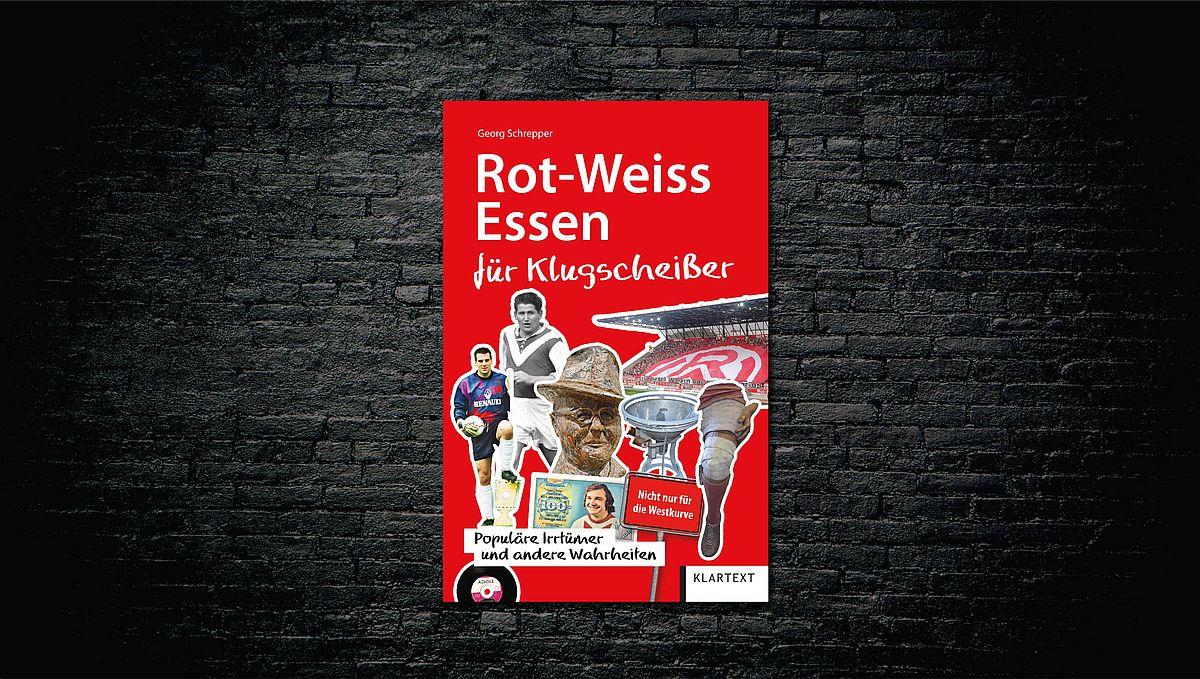 """Morgen lesen Georg Schrepper und Frank Kurth aus dem Buch """"Rot-Weiss Essen für Klugscheißer""""."""