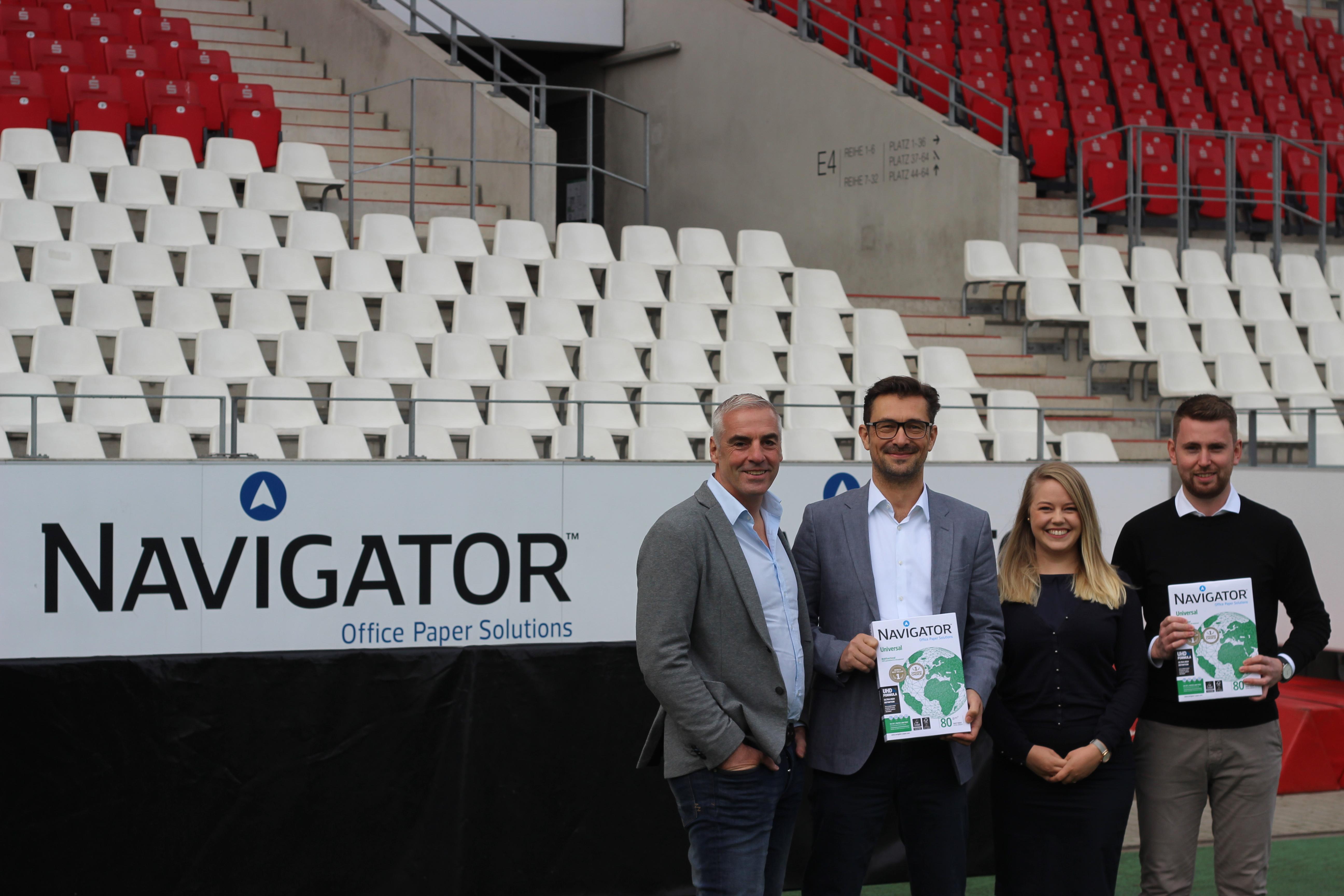 Navigator ist seit Saisonbeginn Top-Partner von RWE