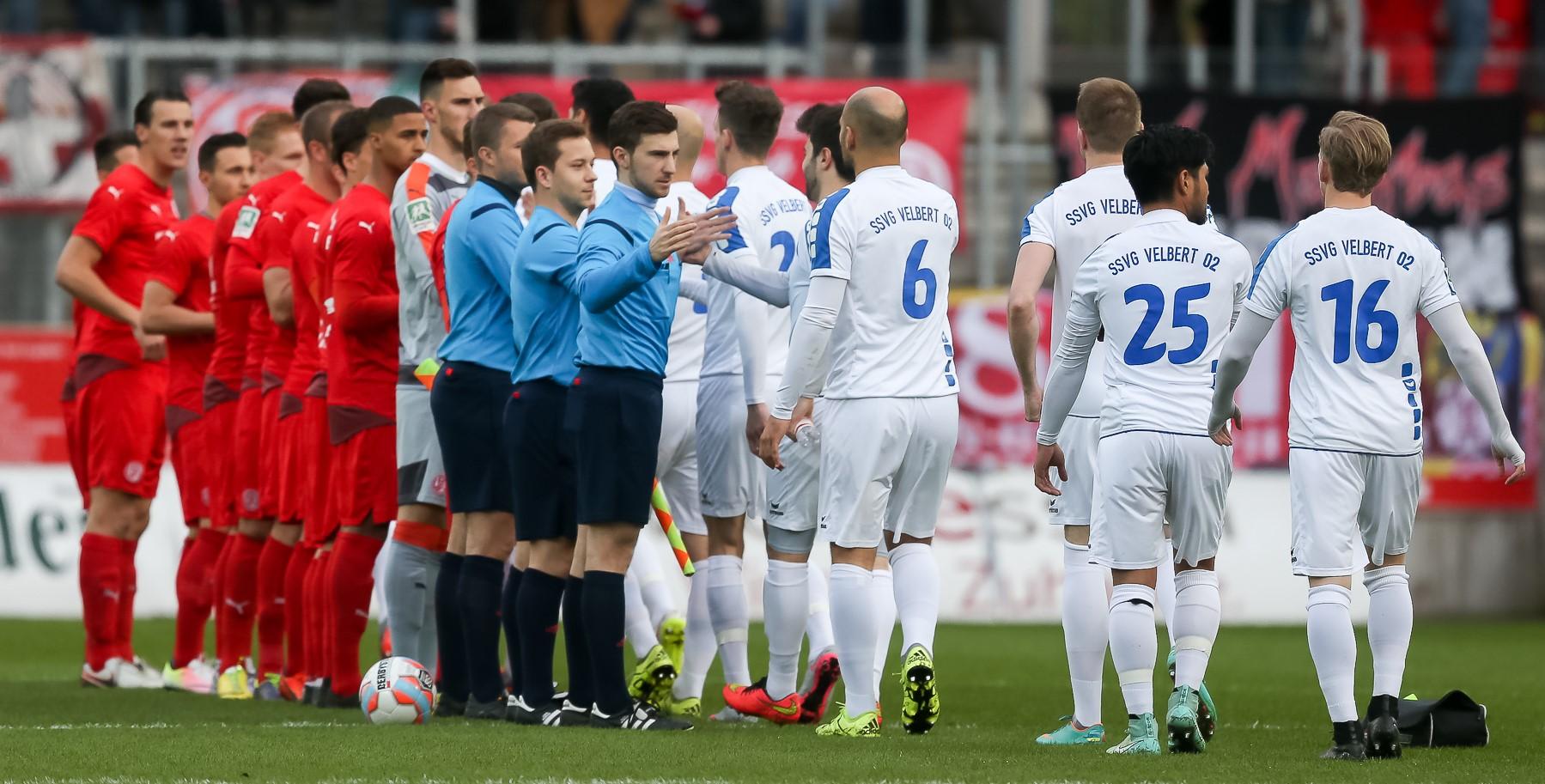 In der Saison 2015/2016 begegneten sich beide Mannschaften noch in der Regionalliga West. (Foto: Endberg)