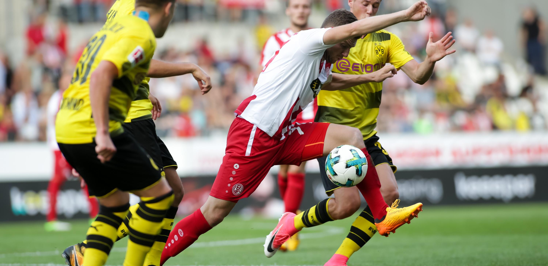 Benni Baier und Eric Durm standen sich bereits vor der vergangenen Saison gegenüber. (Foto: Endberg)