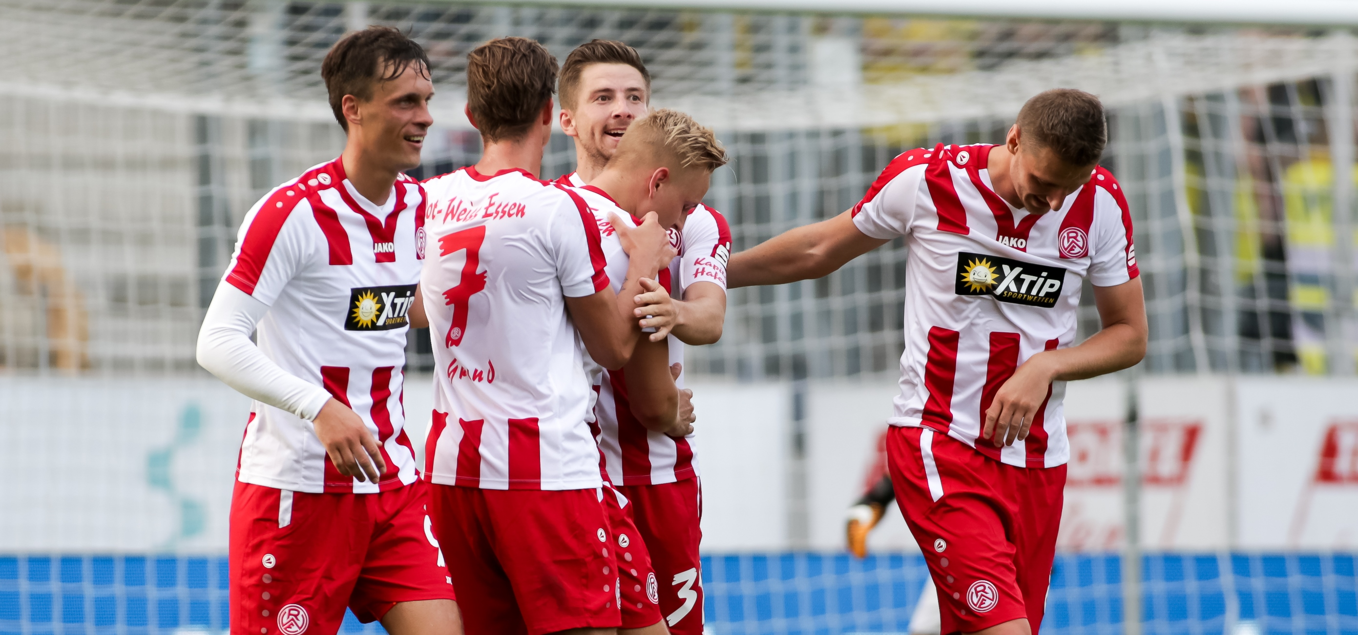 Die Generalprobe vor dem Restrundenauftakt gewannen die Rot-Weissen in Marl-Sinsen mit 1:0. (Foto: Endberg)