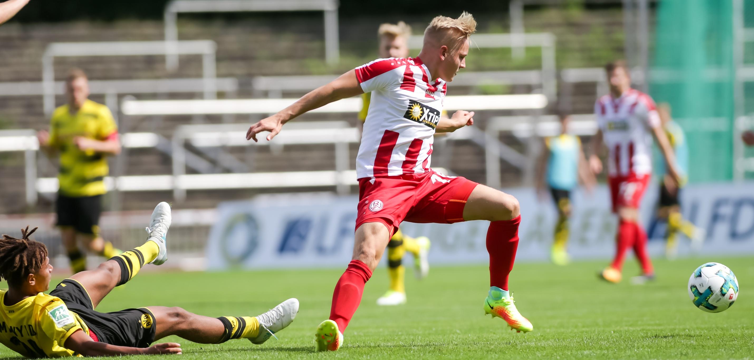 In der vergangenen Saison trennten sich beide Mannschaften im Stadion Rote Erde mit 2:2. (Foto: Endberg)