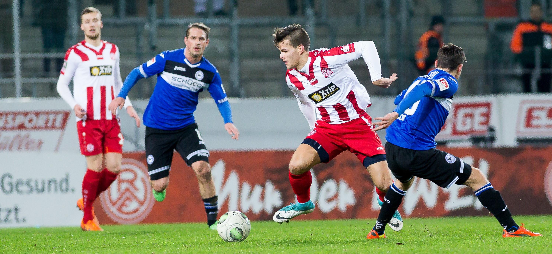 Nicolas Hirschberger rückt aus dem rot-weissen NLZ in die 1. Mannschaft auf. (Foto: Endberg)