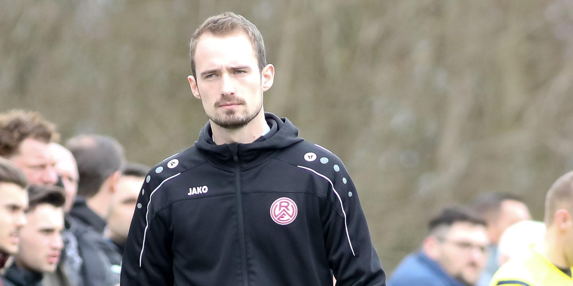 Trainer Lars Fleischer sah gegen Fortuna Düsseldorf einen klaren Schritt nach vorne. (Foto: Endberg)