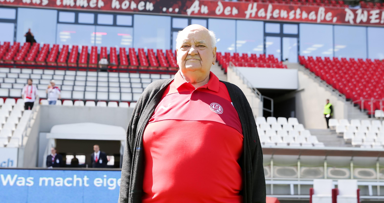 Seit 1948 ist Günter Barchfeld Mitglied von Rot-Weiss Essen.