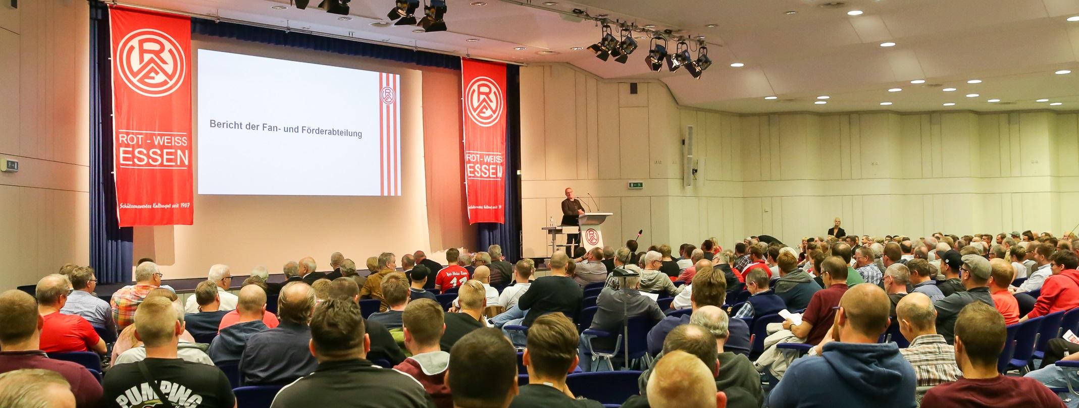 Am kommenden Sonntag richtet Rot-Weiss Essen die Jahreshauptversammlung aus. (Foto: Endberg)