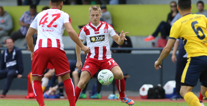 Lukas Scepanik kam zu Saisonbeginn von den Stuttgarter Kickers zu RWE. (Foto: Endberg)