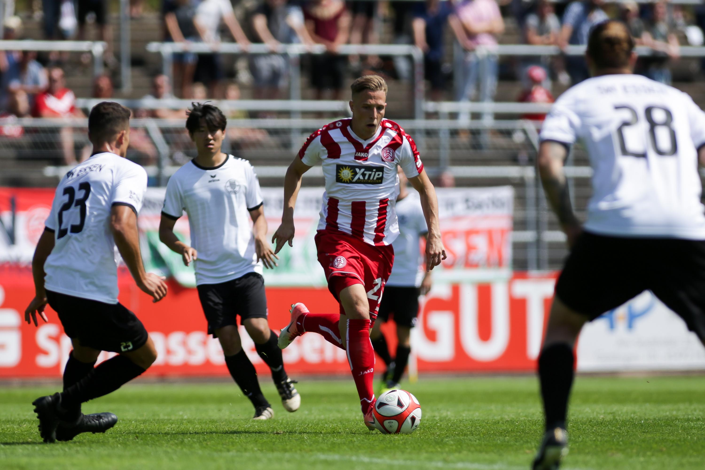 RWE unterlag im Test gegen Elversberg mit 0:1. (Foto: Endberg)
