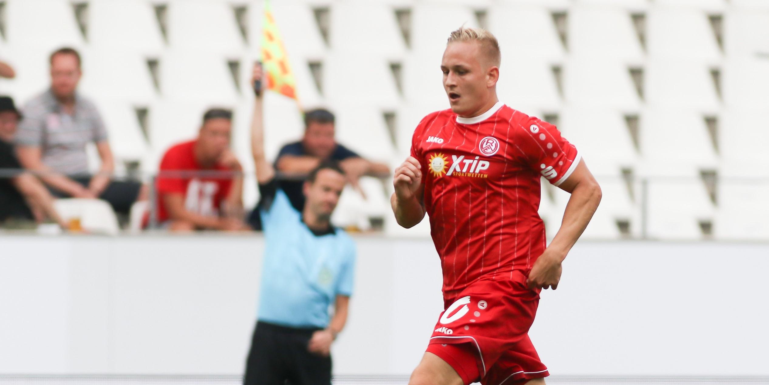 Kai Pröger erhielt im Spiel gegen den SV Lippstadt eine Rote Karte. (Foto: Endberg)