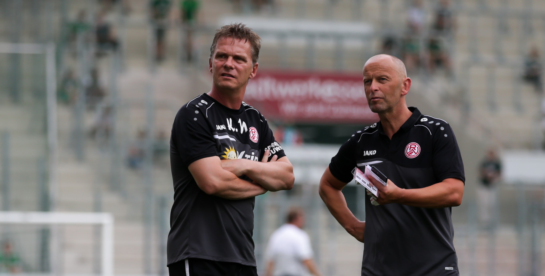 Karsten Neitzel und Jürgen Lucas können mit dem Saisonstart bisher zufrieden sein. (Foto: Endberg)