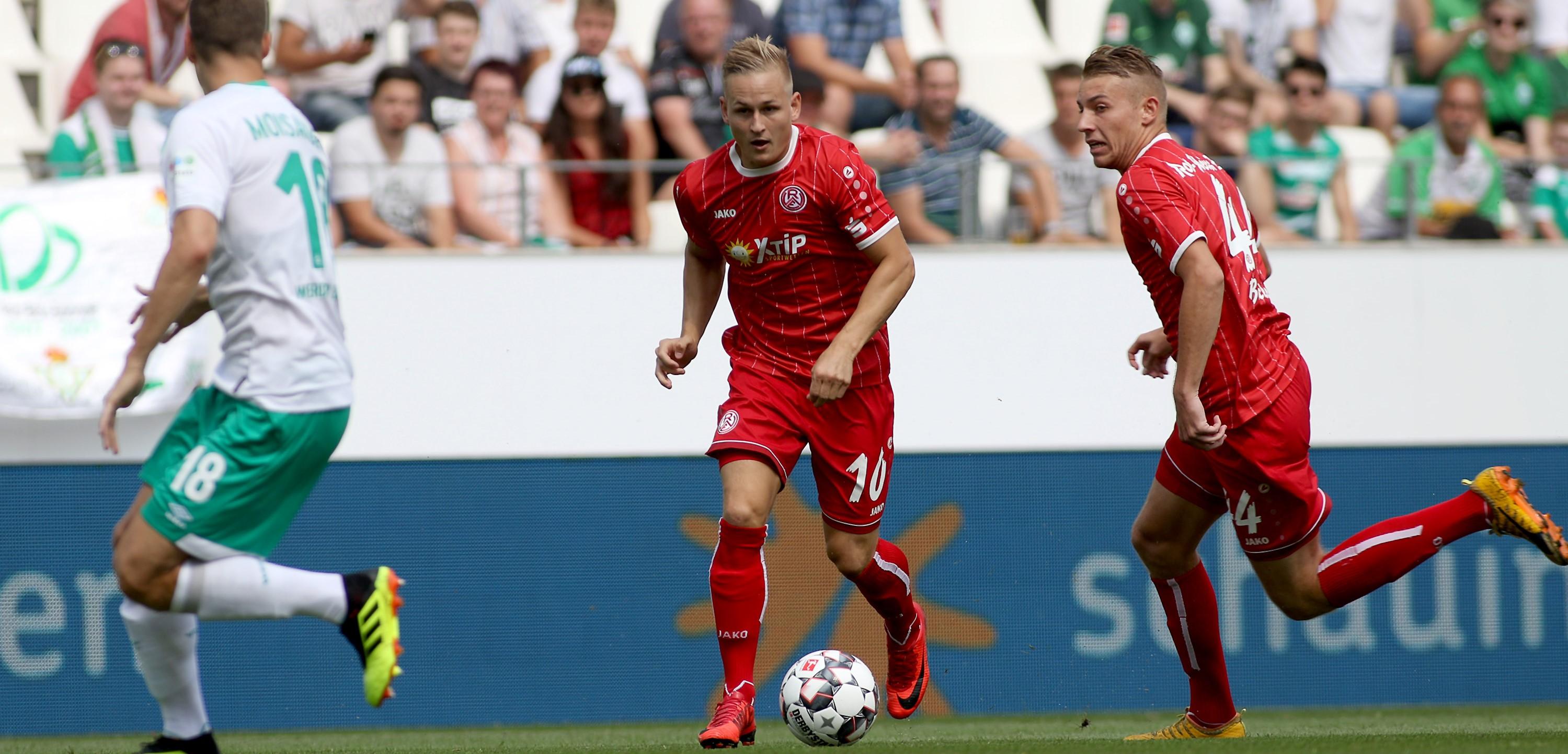 Vier Pflichtspiele muss Rot-Weiss Essen ohne Kai Pröger bestreiten. (Foto: Endberg)
