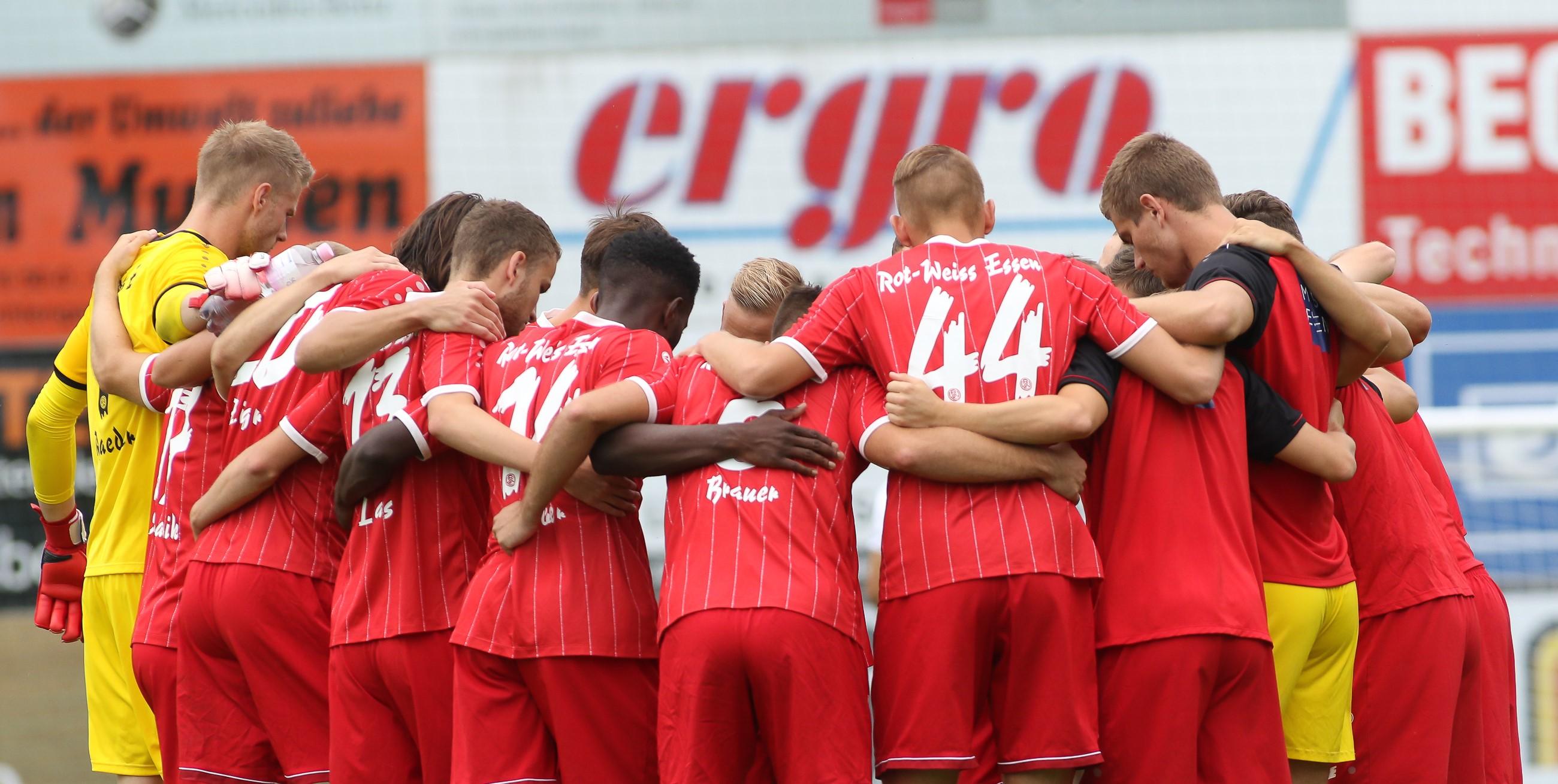 Um 19.00 Uhr treffen die Rot-Weissen auf den SC Verl. (Foto: Endberg)