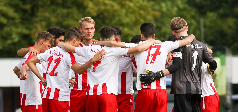 Die rot-weisse U19 verlor am Sonntag mit 1:0 gegen den SV Rödinghausen. (Foto: Endberg)