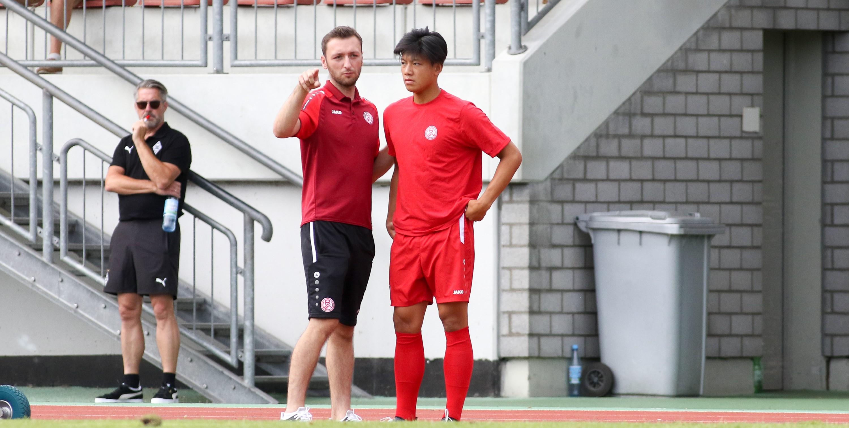 Am Sonntag hofft die rot-weisse U19 zudem auf die Unterstützung der RWE-Fans. (Foto: Endberg)