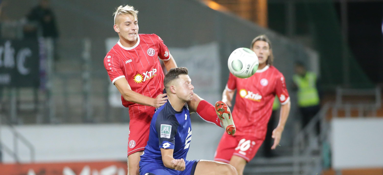 Ohne Punkte kehrten die Rot-Weissen aus Bonn zurück. (Foto: Endberg)