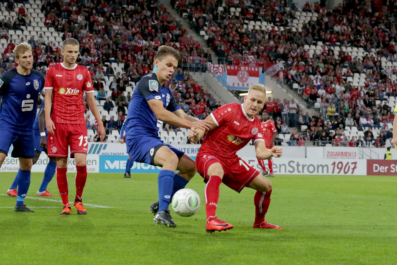 Durch das 1:0 feierten die Rot-Weissen den fünften Sieg in Serie. (Foto: Endberg)