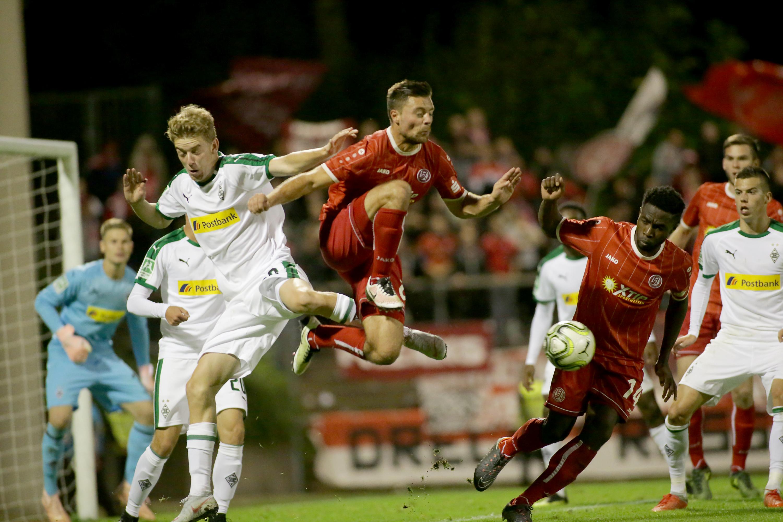 Gute Chancen reichten bei Mönchengladbach nicht für rot-weisse Treffer. (Foto: Endberg)