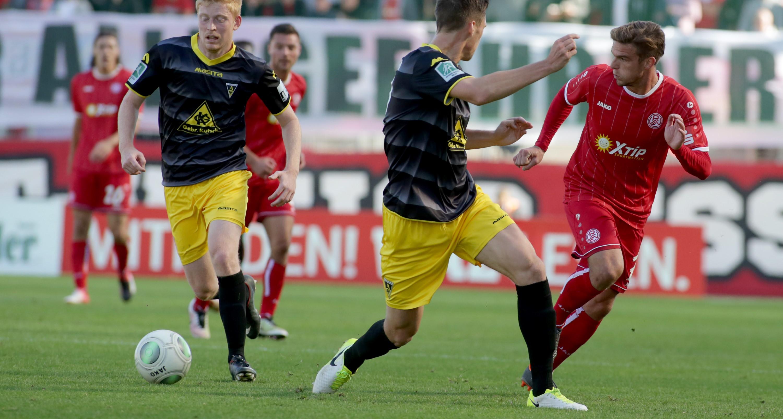 Die Rot-Weissen mussten gegen Alemannia Aachen eine 0:1-Niederlage hinnehmen. (Foto: Endberg)