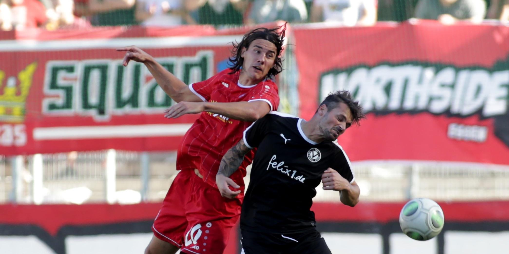 Im Hinspiel musste sich RWE gegen Viktoria Köln mit 0:1 geschlagen geben. (Foto: Endberg)