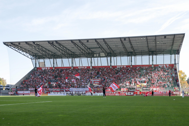 Am Samstag treffen die Rot-Weissen an der Hafenstraße auf die U23 von Fortuna Düsseldorf. (Foto: Endberg)