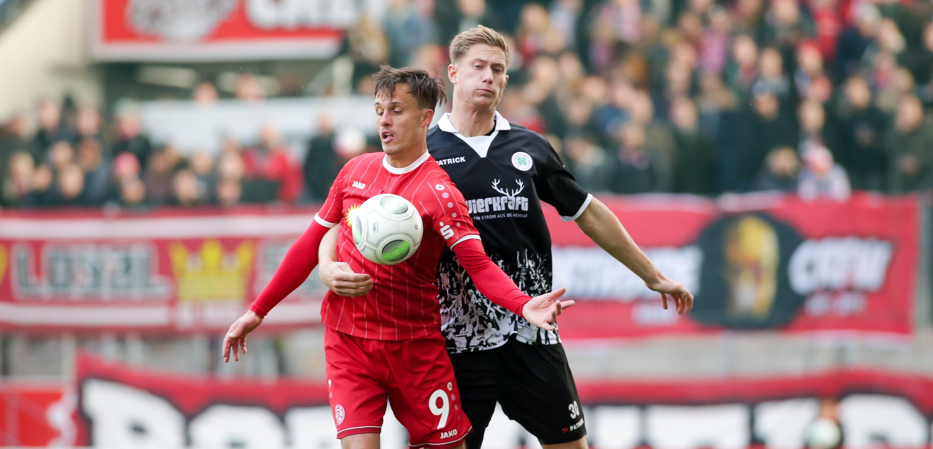 Im Hinspiel erspielte RWO ein 1:1 an der Hafenstraße. (Foto: Endberg)