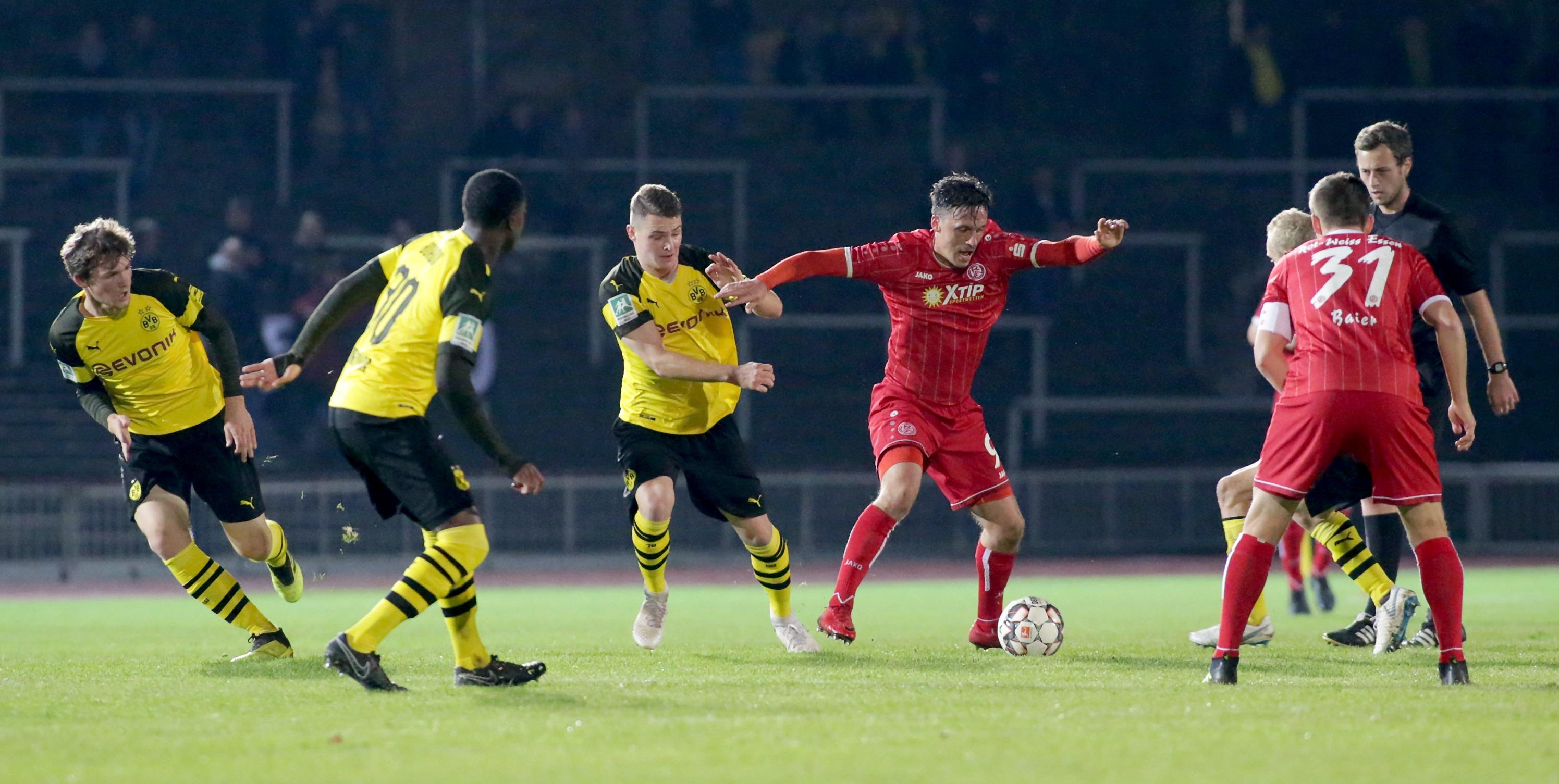 Am Samstag gastiert die U23 des BVB an der Hafenstraße. (Foto: Endberg)