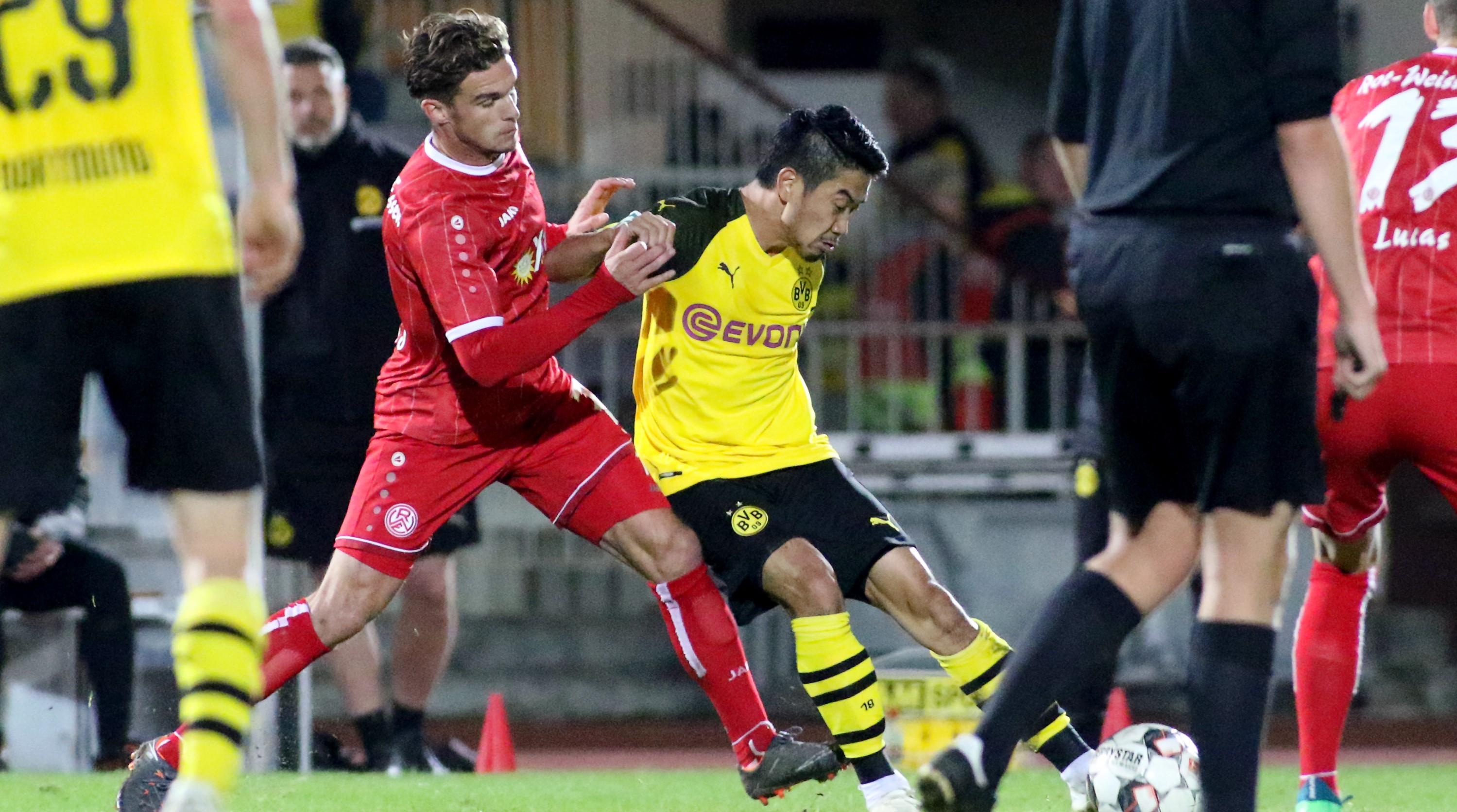 Eine bittere Niederlage setzte es für die Rot-Weissen in Dortmund. (Foto: Endberg)