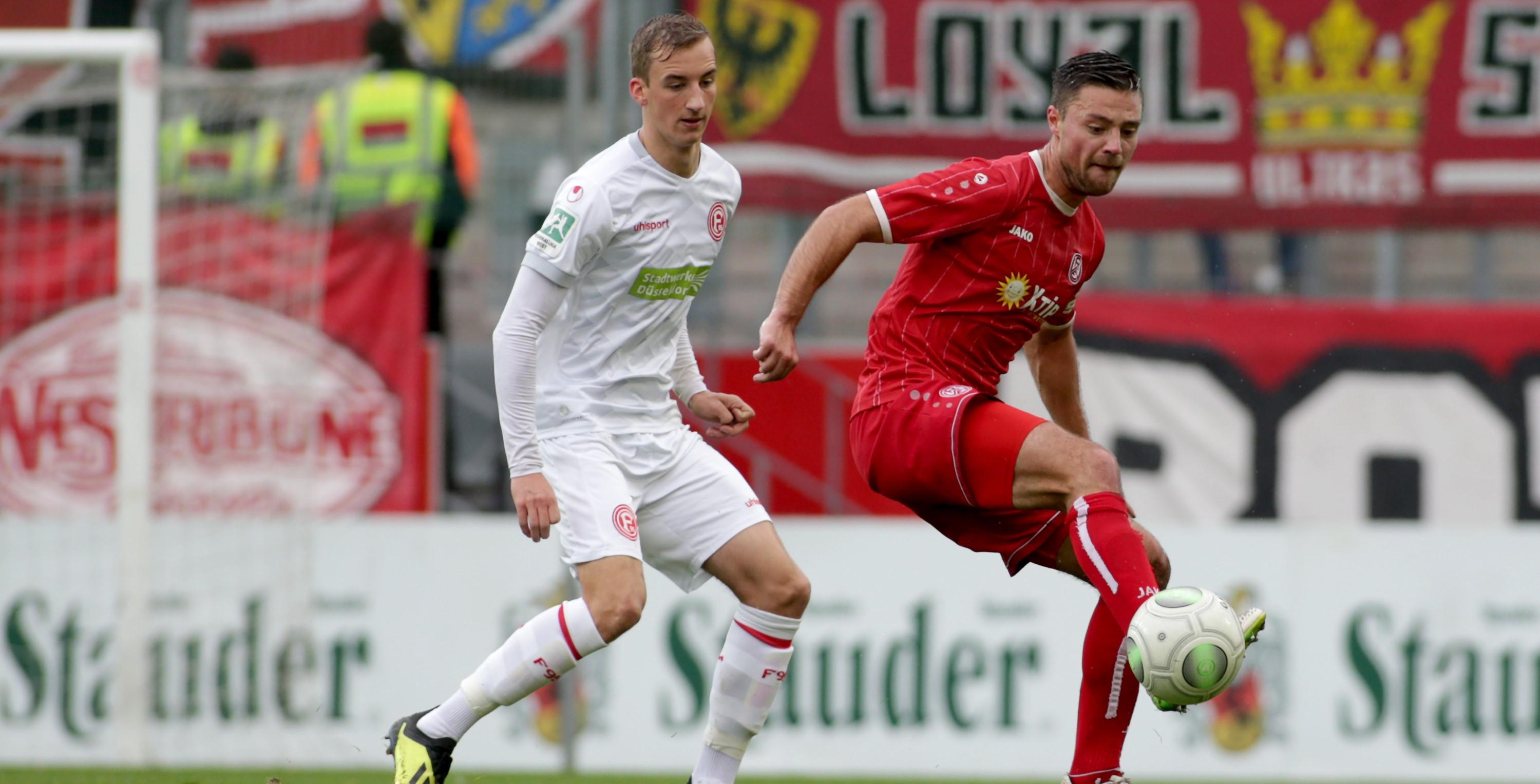 Keine Punkte gab es für die Rot-Weissen im Heimspiel gegen Düsseldorf. (Foto: Endberg)