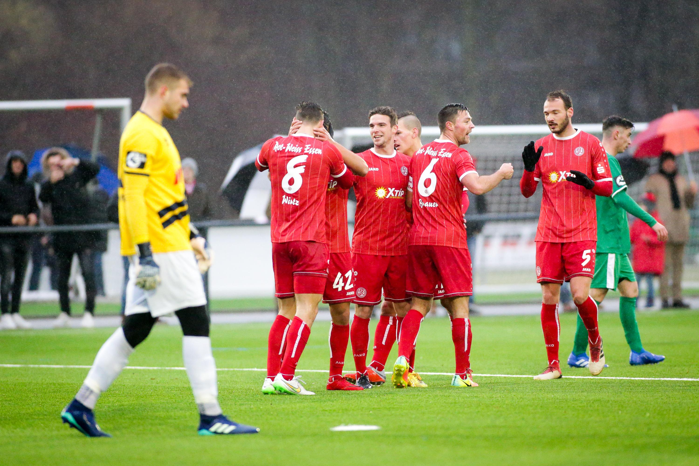 Am Samstag absolvieren die Rot-Weissen das zweite Testspiel der Wintervorbereitung. (Foto: Endberg)