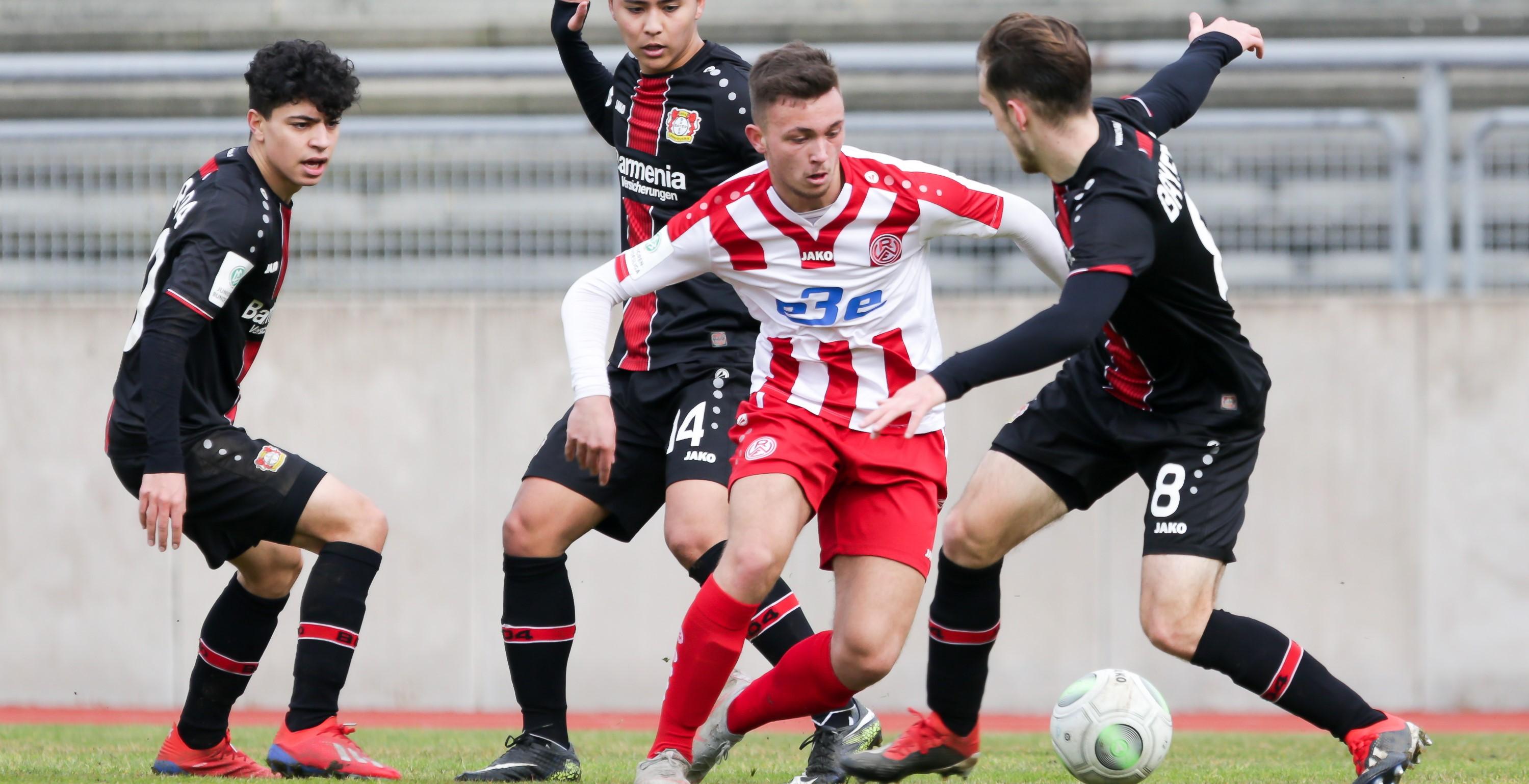 Einen Punkt hätten die Rot-Weissen gegen Bayer Leverkusen verdient gehabt. (Foto: Breilmanns Wiese)