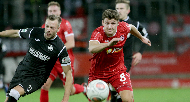 Mit 0:2 unterlagen die Rot-Weissen am heutigen Freitag dem SC Verl. (Foto: Endberg)