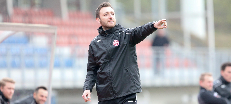 Damian Apfeld ist nach Saisonende nicht mehr Trainer der U19. (Foto: Endberg)