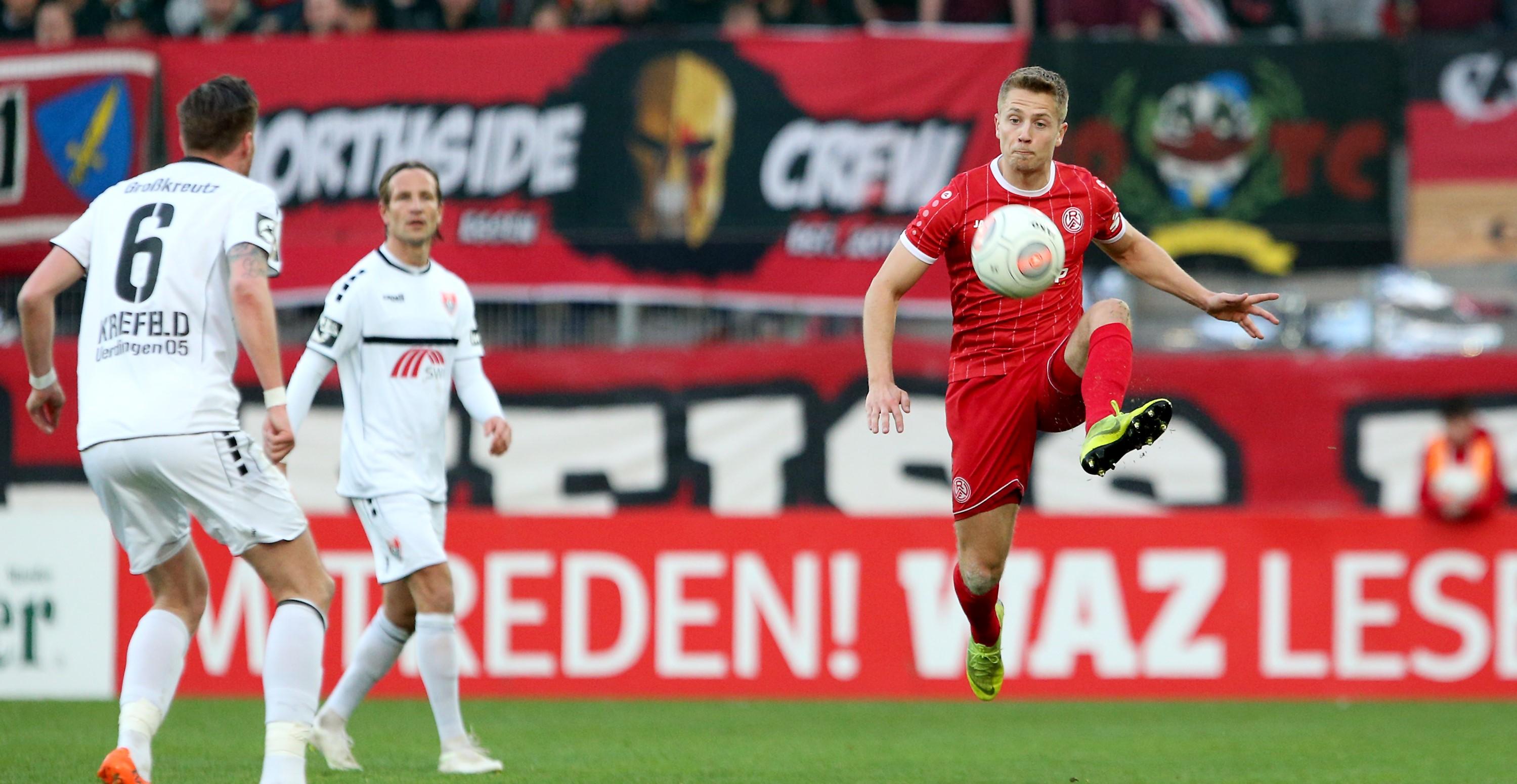 Trotz guter Leistung unterlagen die Rot-Weissen dem klassenhöheren KFC. (Foto: Endberg)