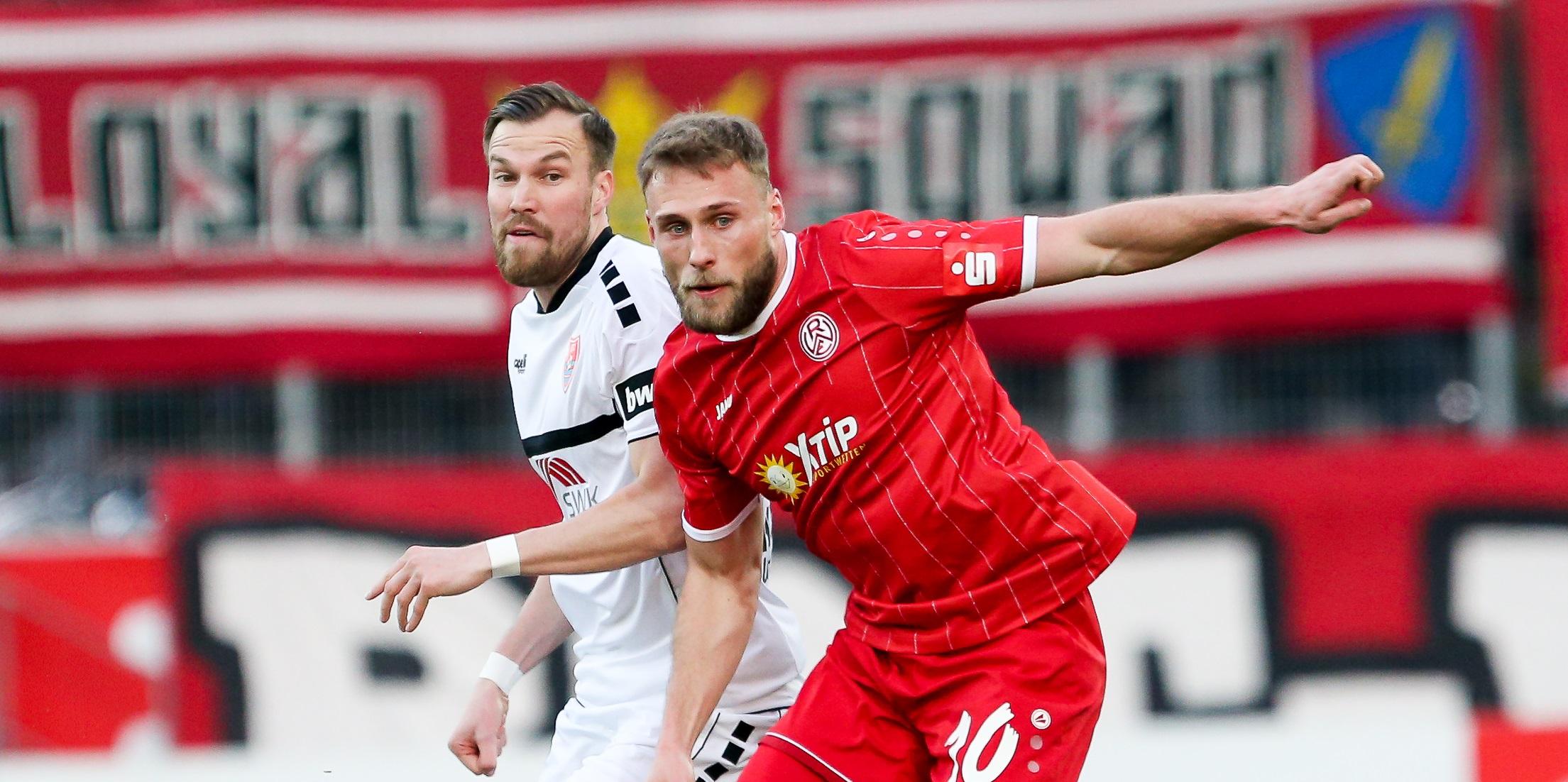 Max Wegner und Lukas Scepanik werden im Auswärtsspiel bei Alemannia Aachen fehlen. (Foto: Endberg)