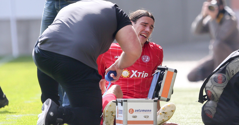 Philipp Zeiger fällt mit einem Muskelbündelriss aus. (Foto: Endberg)