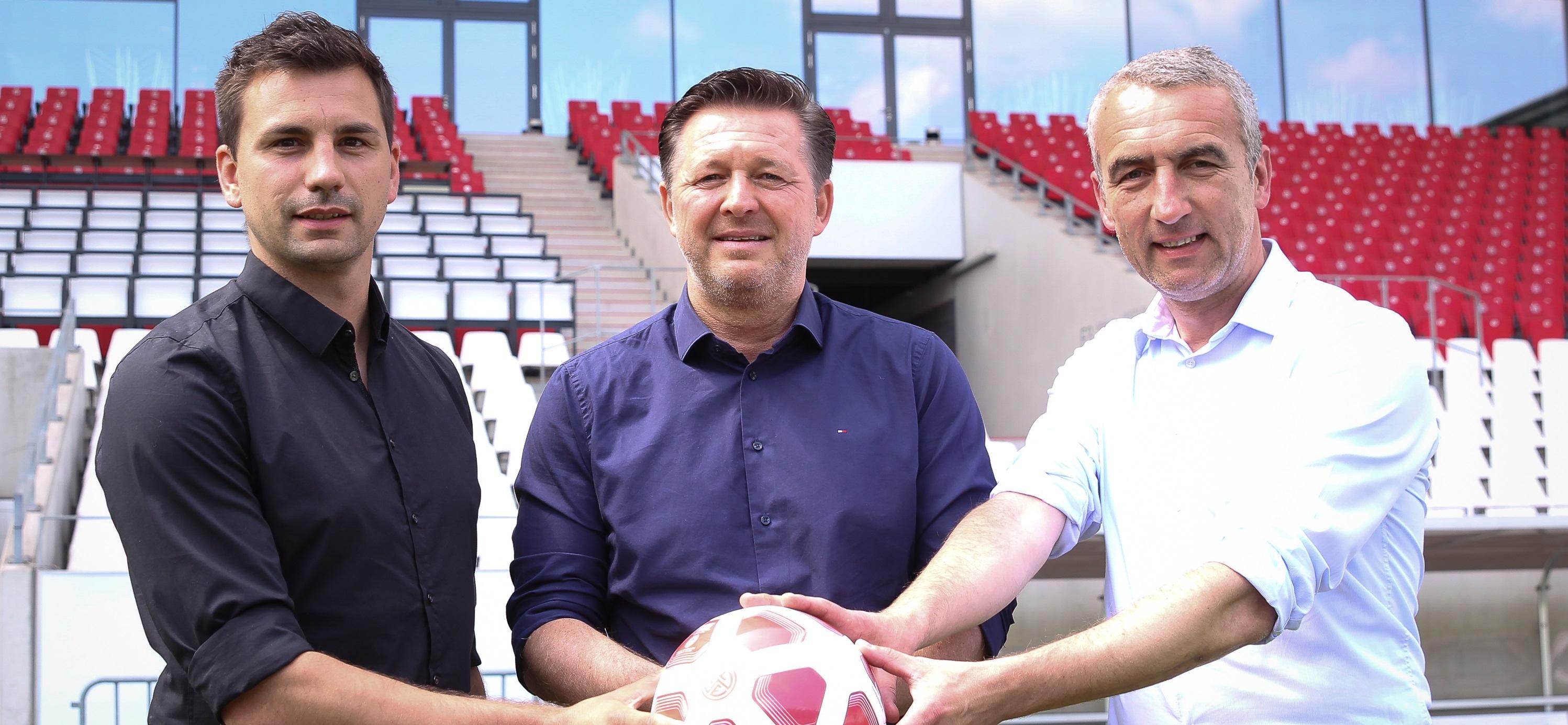 Christian Titz ist neuer Chef-Trainer bei RWE. (Foto: Endberg)
