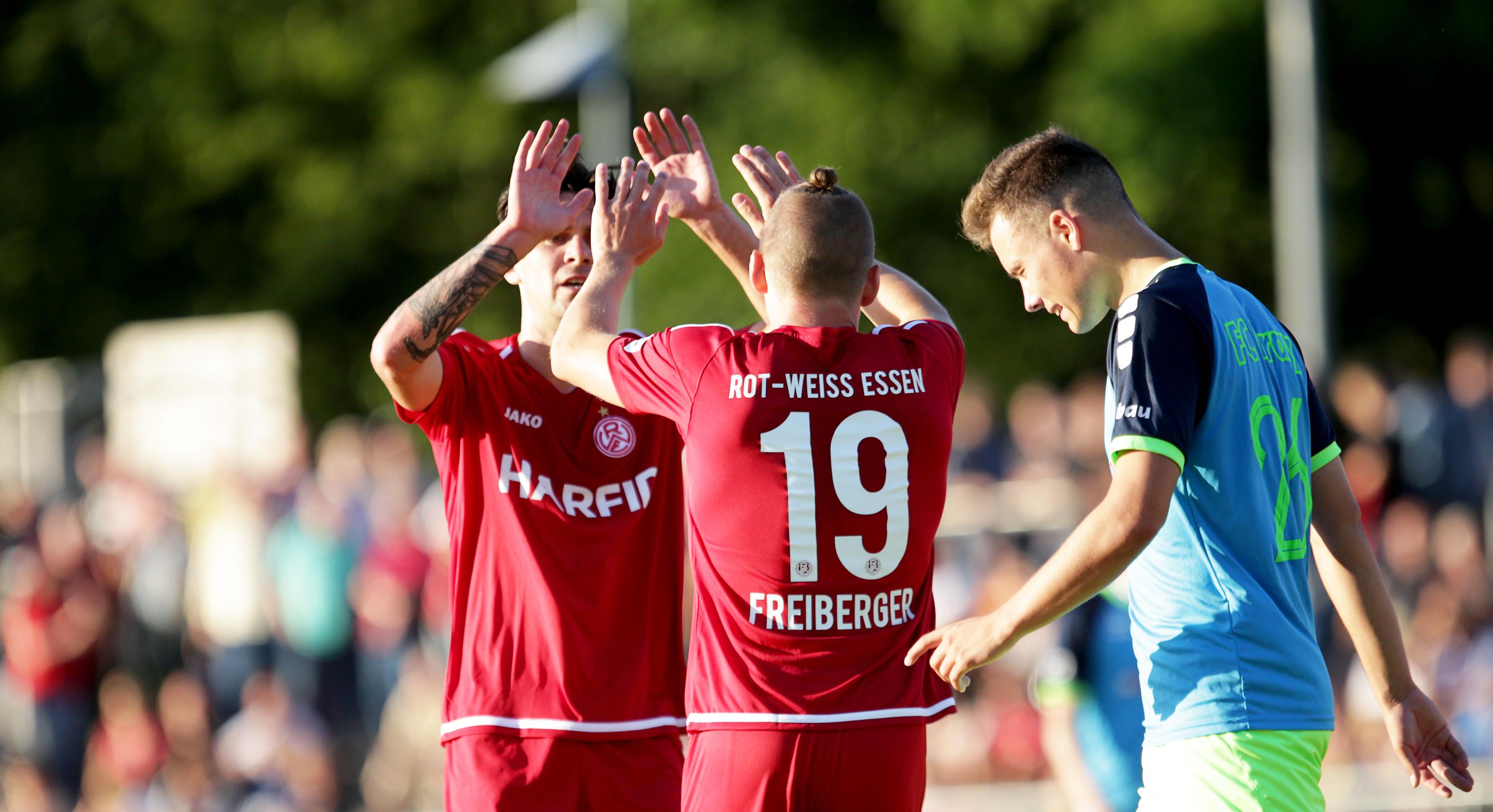 Mit 3:1 schlugen die Rot-Weissen den FC Kray. (Foto: Endberg)